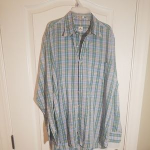 PETER MILLAR BUTTON DOWN MENS SIZE M